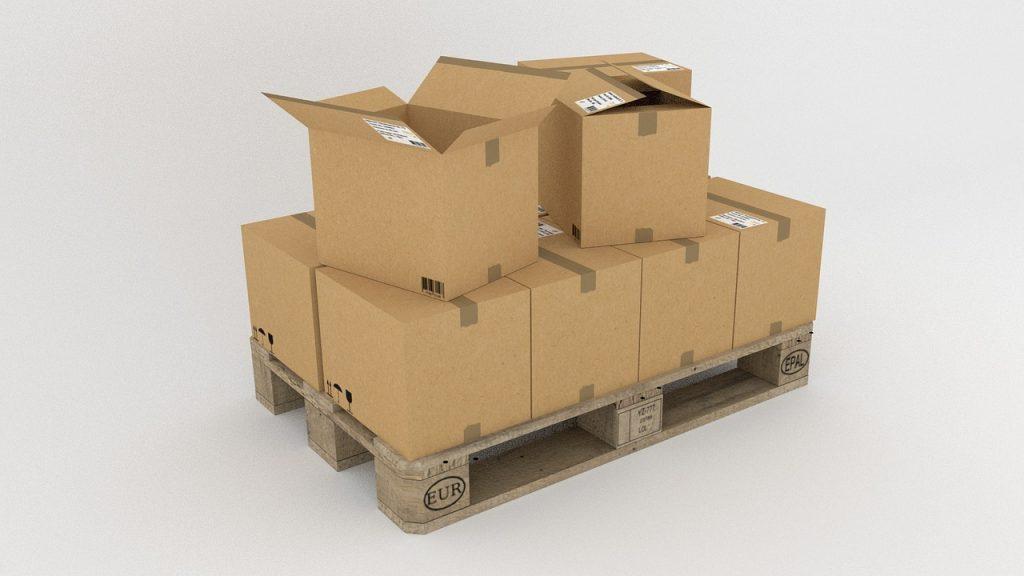 Vervoer: Palletboxen